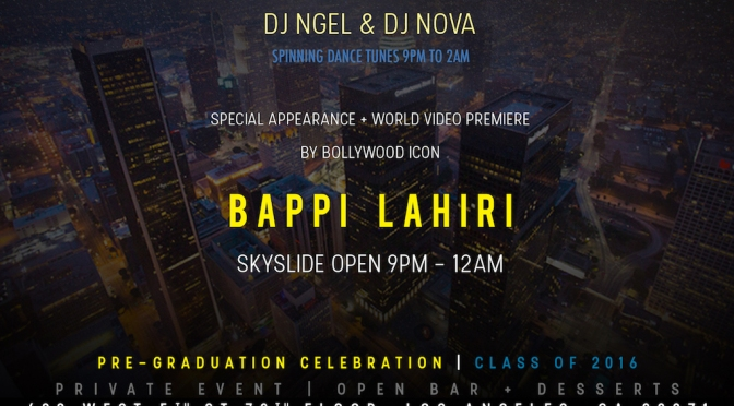 Global Celebration at #SkySpaceLA in Downtown LA