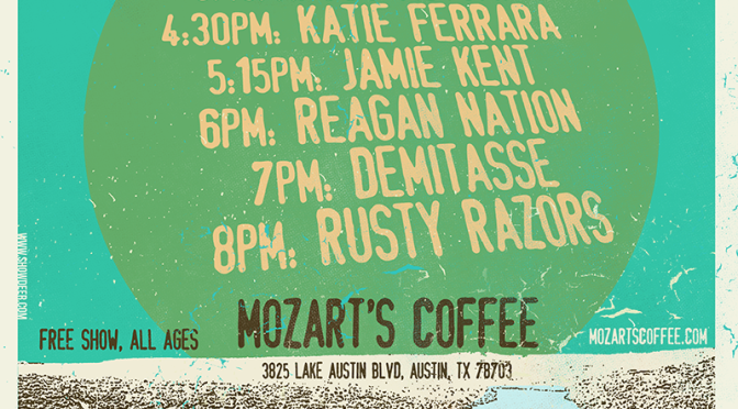 Showcase at Mozart's in Austin during SXSW 2015