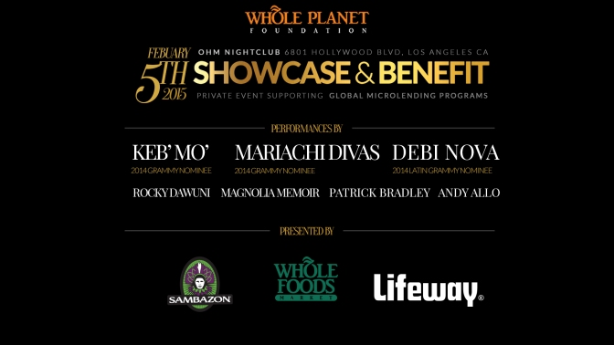 2015 Showcase and Benefit Raises Over $20,000 for Whole Planet Foundation