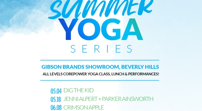 #RockNYoga Summer Music & Yoga Series 2016