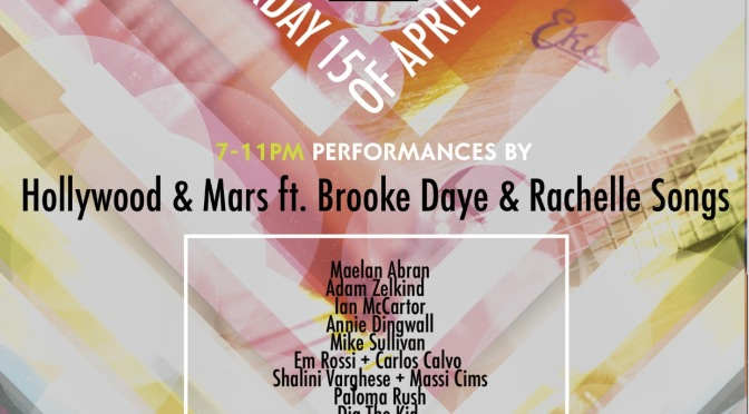 Showcase to Benefit Rock Against Trafficking:  April 15, 2017