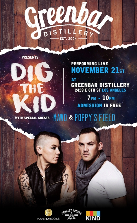Dig the Kid @ Greenbar - Nov 21 2017