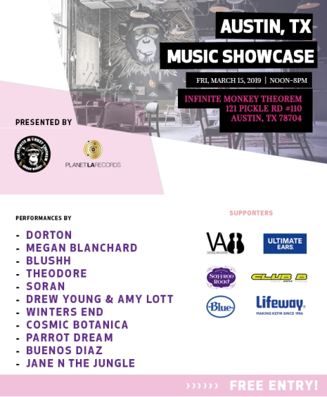 Planet LA showcase - March 15 2019
