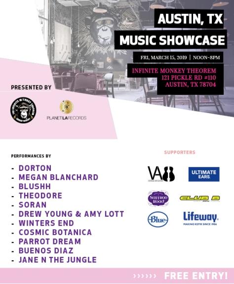 Planet LA showcase - March 15 2019